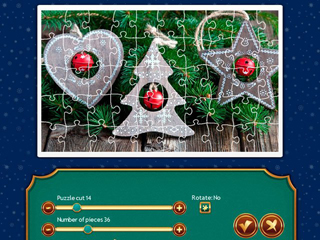 Holiday Jigsaw Christmas 4 - Screen 1