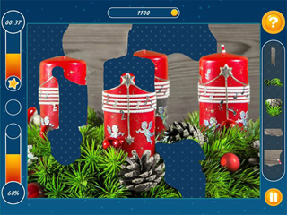 Holiday Mosaics Christmas Puzzles - Screen 2