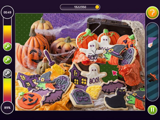 Holiday Mosaics - Halloween Puzzles - Screen 2
