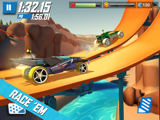 Hot Wheels: Race Off - Screen 1