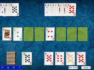 Hoyle Official Solitaire - Screen 1
