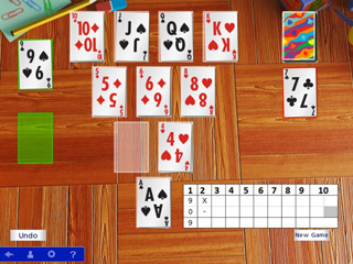 Hoyle Official Solitaire - Screen 2