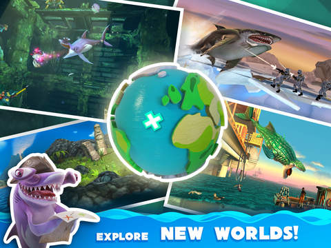 Hungry Shark World - Screen 2