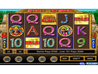 IGT Slots Aztec Temple - Screen 1
