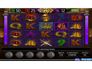 IGT Slots Three Kings - Screen 1