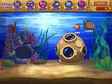 Insaniquarium Deluxe - Screen 2