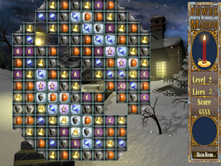 Jewel Match: Winter Wonderland - Screen 1