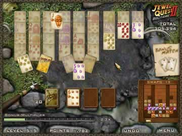 Jewel Quest Solitaire II - Screen 1