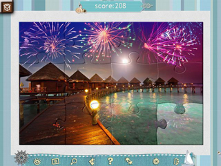 Jigsaw Puzzle - Beach Season - Screen 1