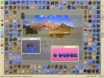 Jigsaws Galore - Screen 1