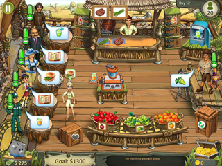 Katy & Bob - Safari Cafe Collector's Edition - Screen 1