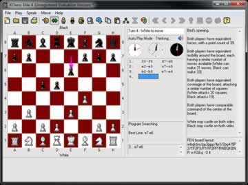KChess Elite - Screen 2