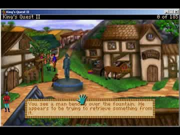 King's Quest 2: Romancing the Throne - Screen 2