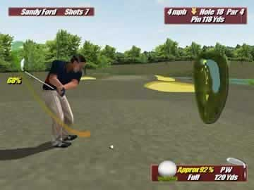 Leaderboard Golf - Screen 2