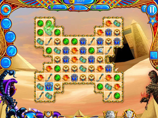 Legend of Egypt: Jewels of the Gods Collector's Edition - Screen 1