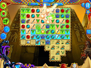 Legend of Egypt: Jewels of the Gods Collector's Edition - Screen 2