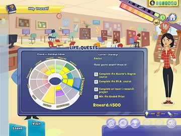 Life Quest 2: Metropoville - Screen 2