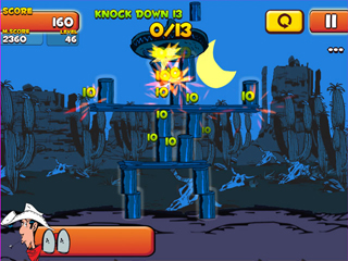 Lucky Luke: Shoot & Hit - Screen 1