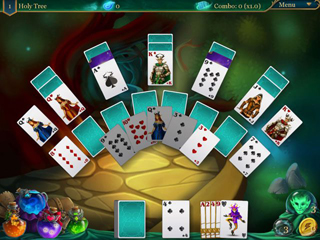 Magic Cards Solitaire 2 - Screen 2