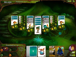 Magic Cards Solitaire Collector's Edition - Screen 1