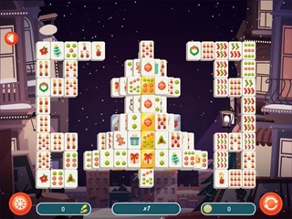 Mahjong Christmas 2 - Screen 1