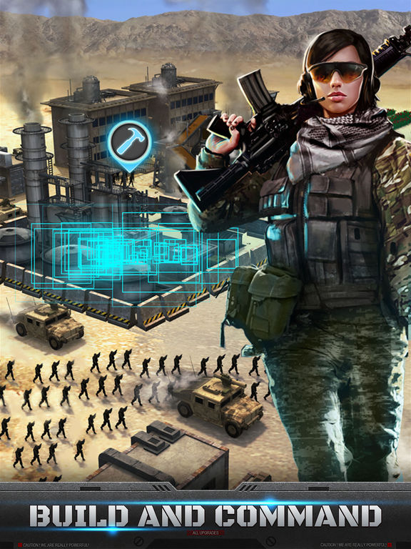 Mobile Strike - Screen 2