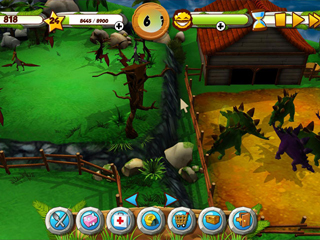 My Jurassic Farm - Screen 1