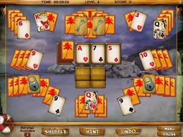 Mystery Solitaire: Secret Island - Screen 2