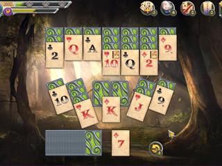 Mystic Journey - TriPeak's Solitaire - Screen 1