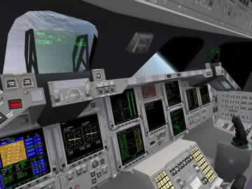 Orbiter Space Flight Simulator - Screen 1