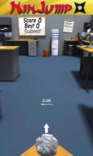 Paper Toss - Screen 2