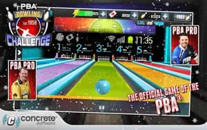 PBA Bowling Challenge - Screen 1
