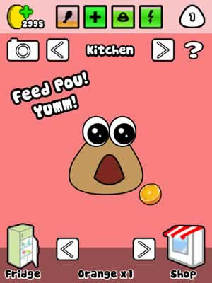Pou - Screen 1