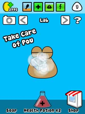 Pou - Screen 2