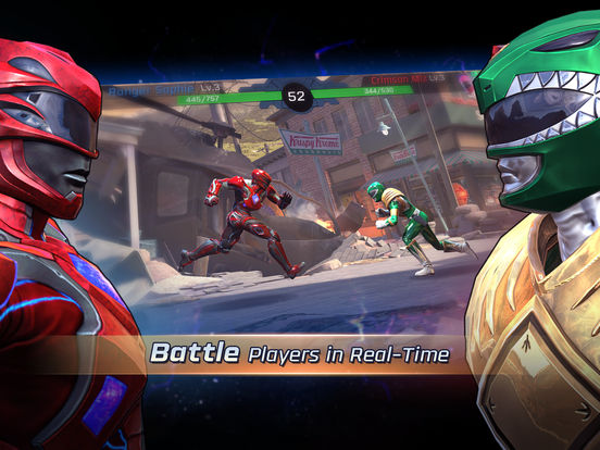 Power Rangers: Legacy Wars - Screen 1