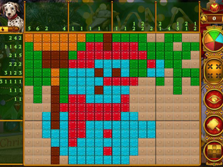 Rainbow Mosaics: Christmas Lights 2 - Screen 2