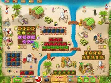 Ranch Rush 2 - Sara's Island Experiment - Screen 2