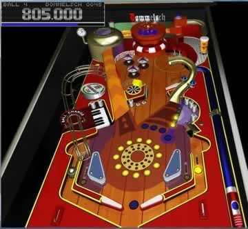 Roll Em Up Pinball - Screen 2