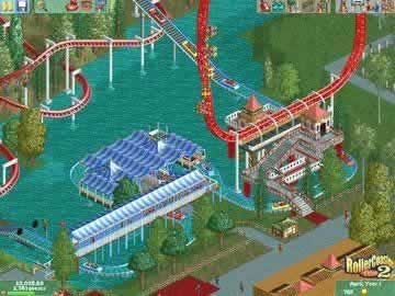 RollerCoaster Tycoon 2 - Screen 1