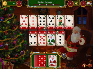Santa's Christmas Solitaire - Screen 1