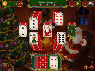 Santa's Christmas Solitaire - Screen 2