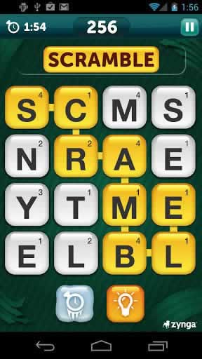 Scramble With Friends Free - Screen 1