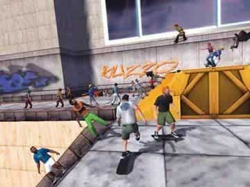 Skateboard Park Tycoon 2004 Back in the USA - Screen 1