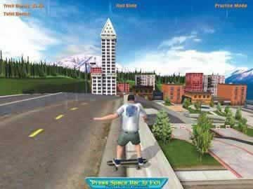 Skateboard Park Tycoon 2004 Back in the USA - Screen 2