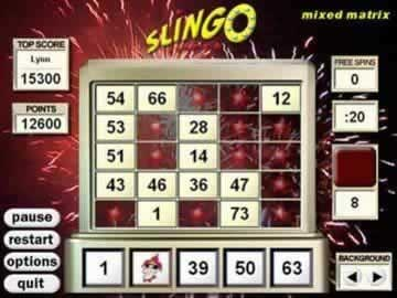 Slingo Deluxe - Screen 1