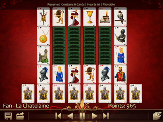 Solitaire 220 Plus - Screen 1