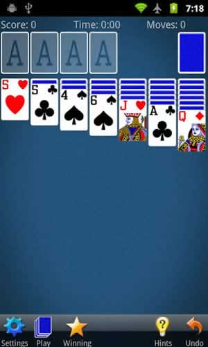 Solitaire (by MobilityWare) - Screen 1