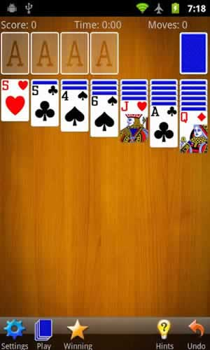 Solitaire (by MobilityWare) - Screen 2