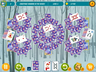 Solitaire Christmas - Match 2 Cards - Screen 2