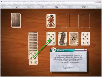 Solitaire City - Screen 2